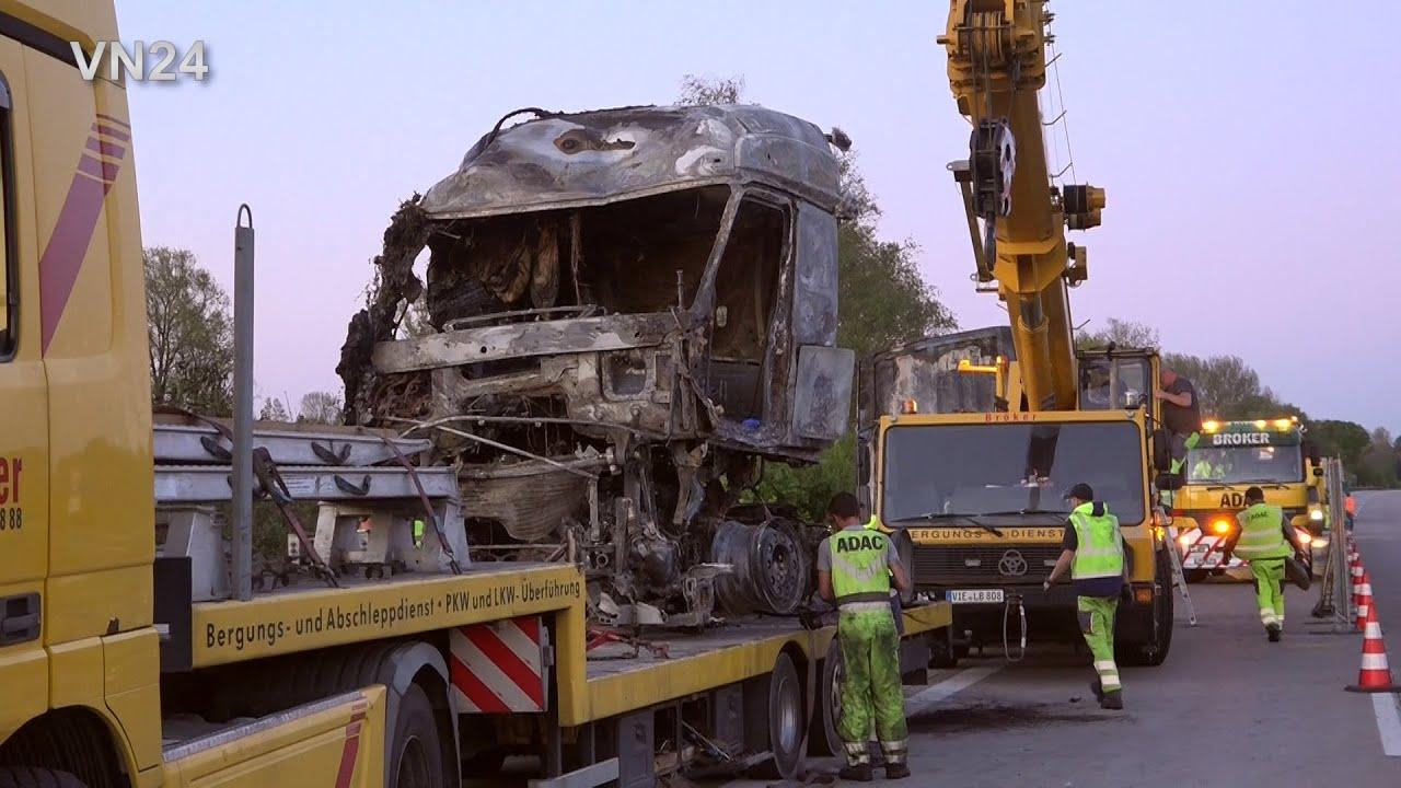 Lkw Unfall A40