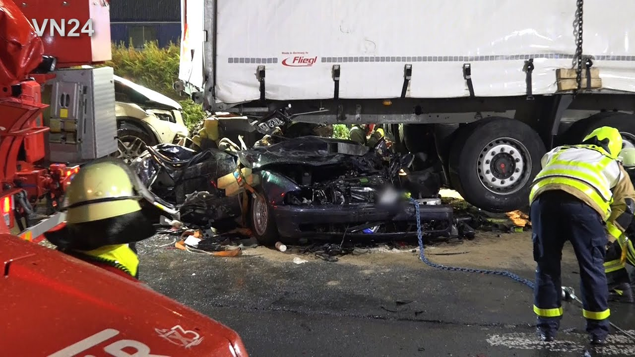 Unfall A2 Castrop Rauxel